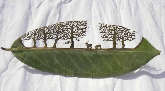 Lorenzo M. Durán – Arte tallado en hojas